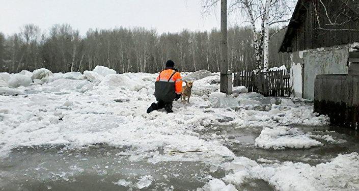 Паводки в Восточном Казахстане
