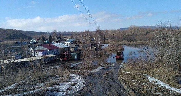 Паводок. Ситуация в Восточно-Казахстанской области