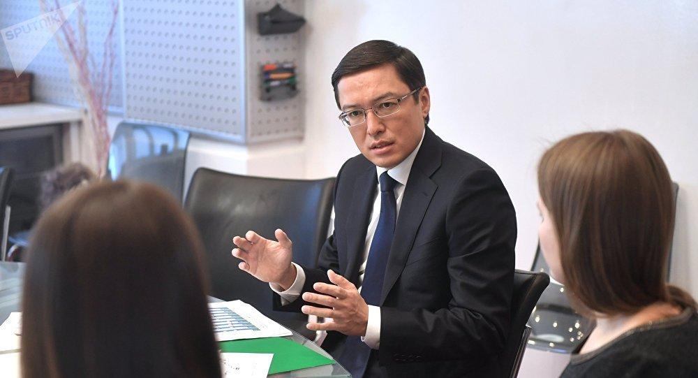 Председатель Национального банка Республики Казахстан Данияр Акишев