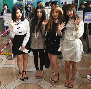 Корейская группа Red Velvet