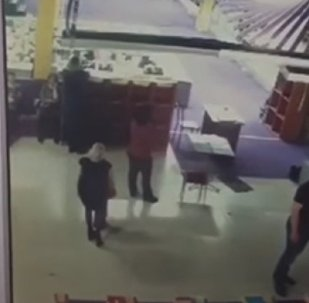 Видео давки во время пожара в Зимней вишне