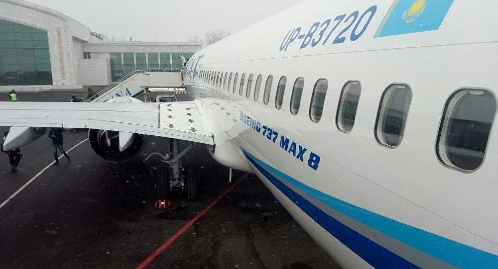 Boeing-737 MAX 8 авиакомпании SCAT