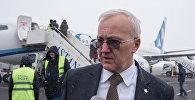 Региональный менеджер Международной ассоциации воздушного транспорта (International Air Transport Association, IATA, ИАТА) по Центральной Азии Джордан Карамалаков