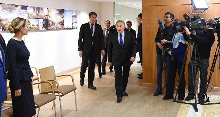 Глава государства ознакомился с ходом реализации проектов по благоустройству столицы