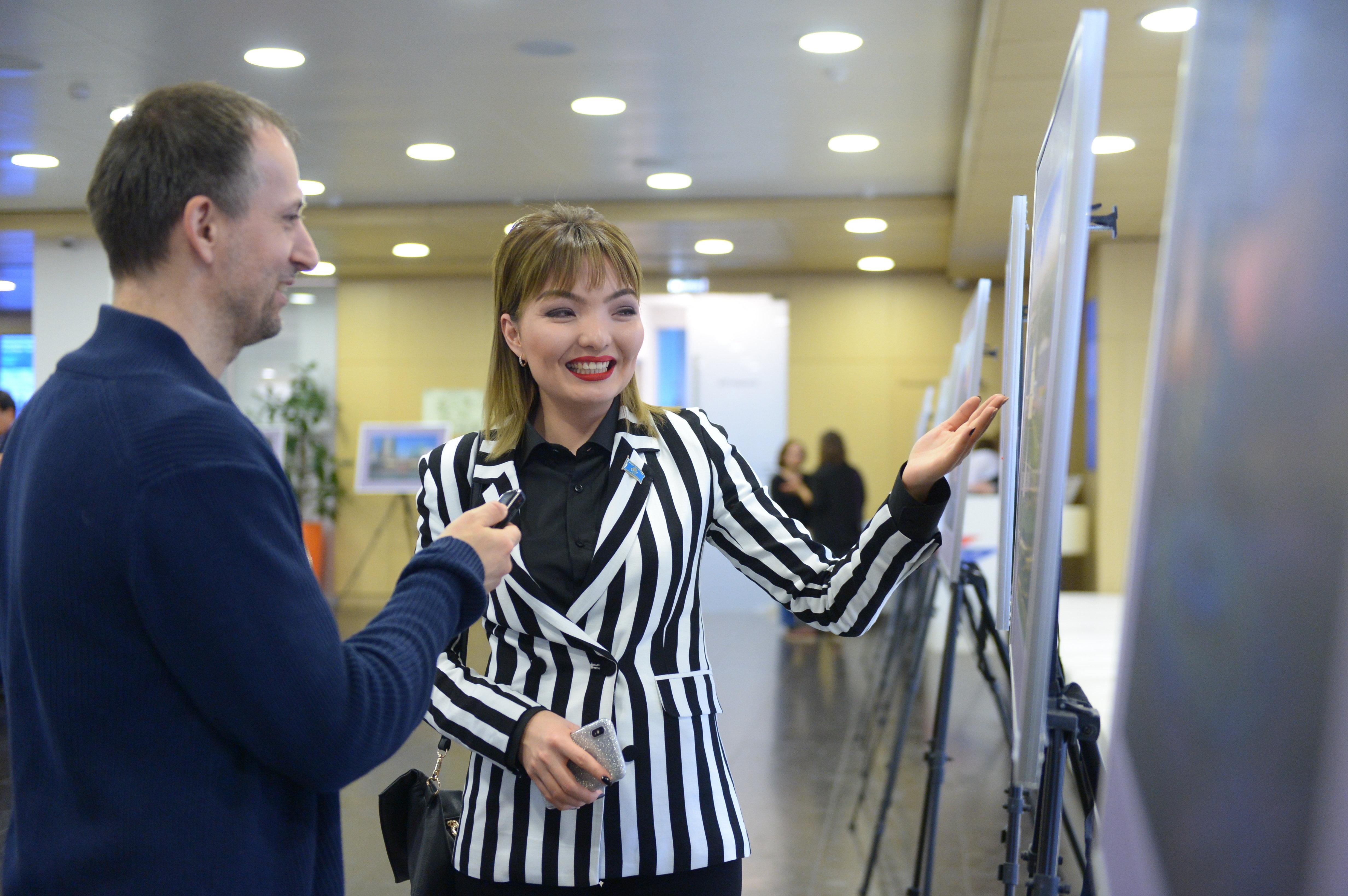 Руководитель пресс-службы Фонда первого президента Республики Казахстан Акерке Берлибай