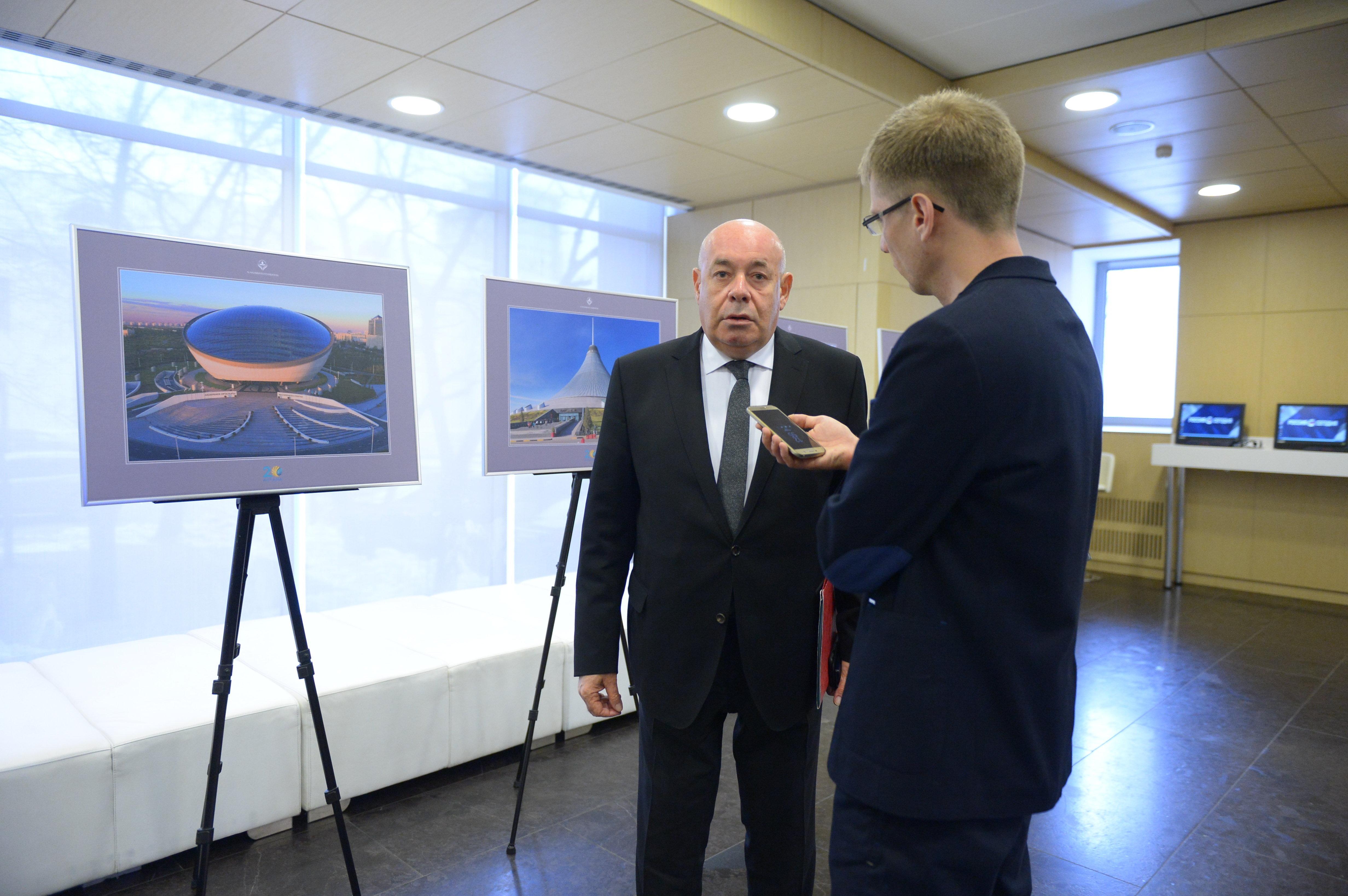 Представитель президента Российской Федерации по международному культурному сотрудничеству Михаил Швыдкой