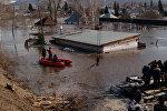 Паводки в Зыряновском районе Восточно-Казахстанской области, архивное фото
