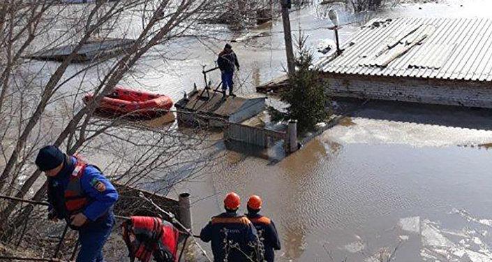 Паводки в Зыряновском районе ВКО
