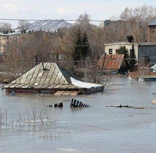 Паводки в Зыряновском районе Восточно-Казахстанской области