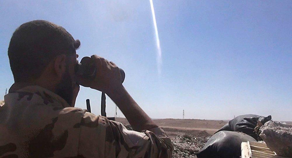 Боец сирийской армии, архивное фото