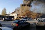Пожар в торговом центре Самары