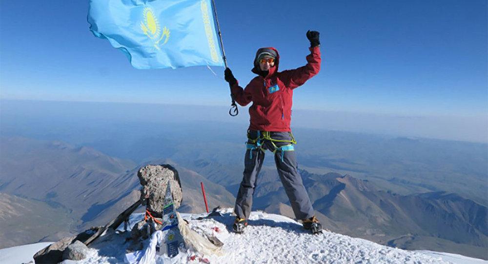 Альпинист, капитан Вооруженных Сил РК Максут Жумаев