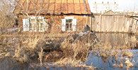 Талые воды подтапливают частный сектор в Петропавловске