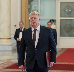 Посол России Алексей Бородавкин