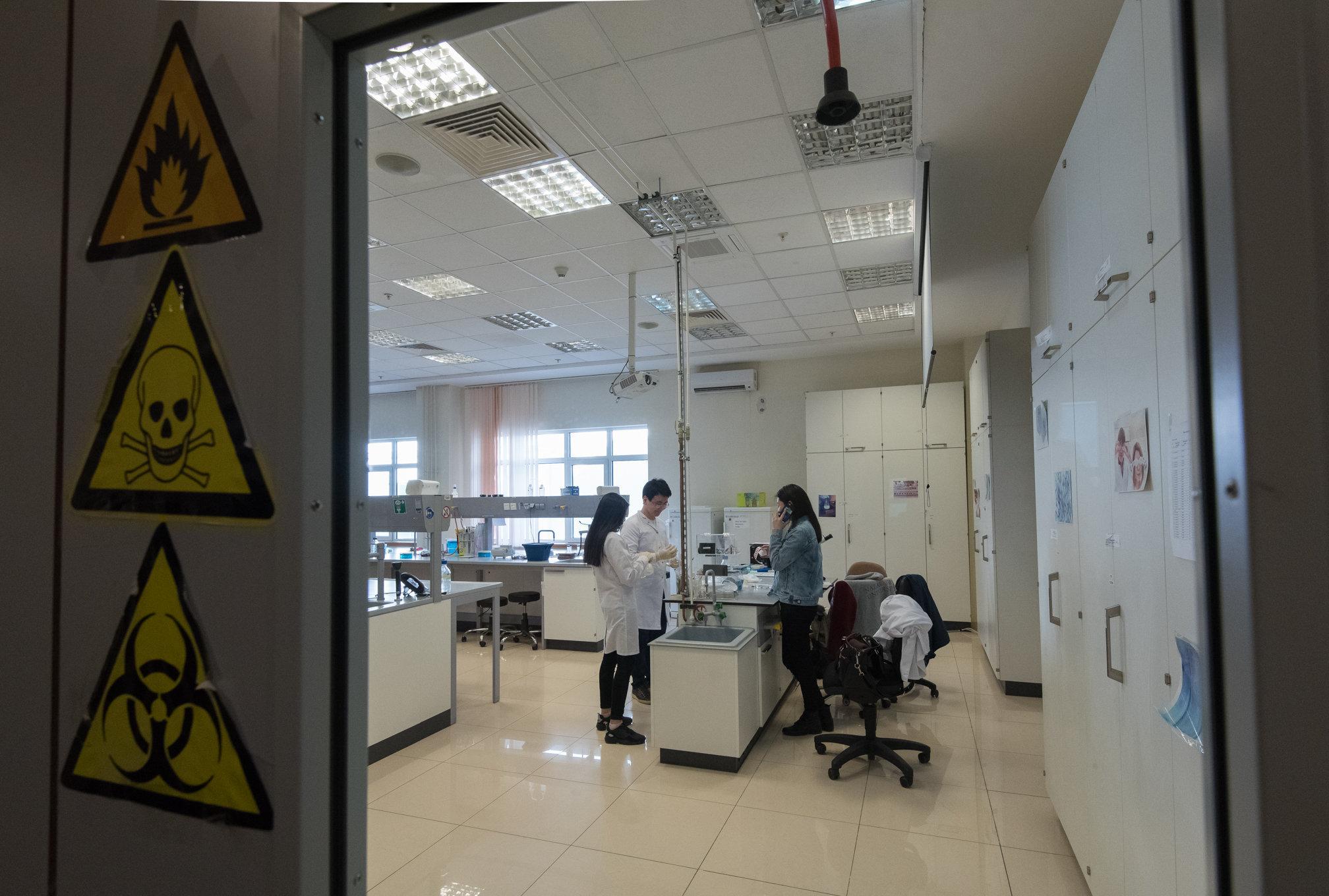 Лаборатория Назарбаев университета
