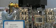Эксклюзивные кадры: как выглядит космический аппарат Луна-25