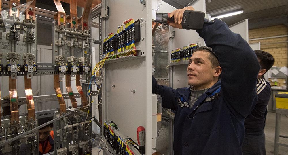 Электротехнический завод в Астане