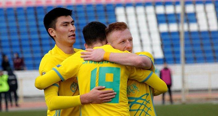 Футболисты ФК Астана