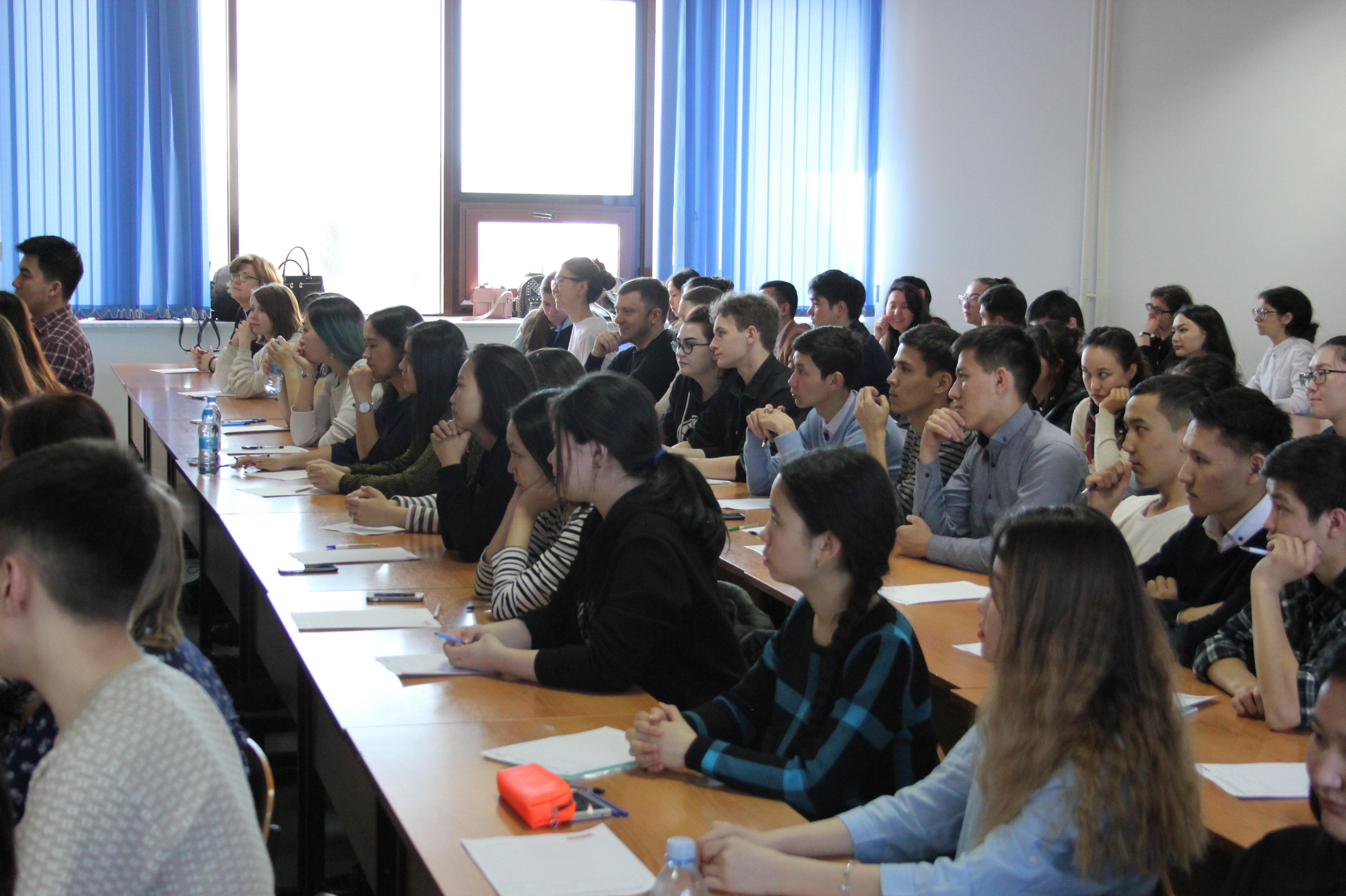 Тотальный диктант прошел в Евразийском национальном университете им. Л.Н. Гумилева