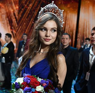 Победительница конкурса Мисс Россия 2018 Юлия Полячихина
