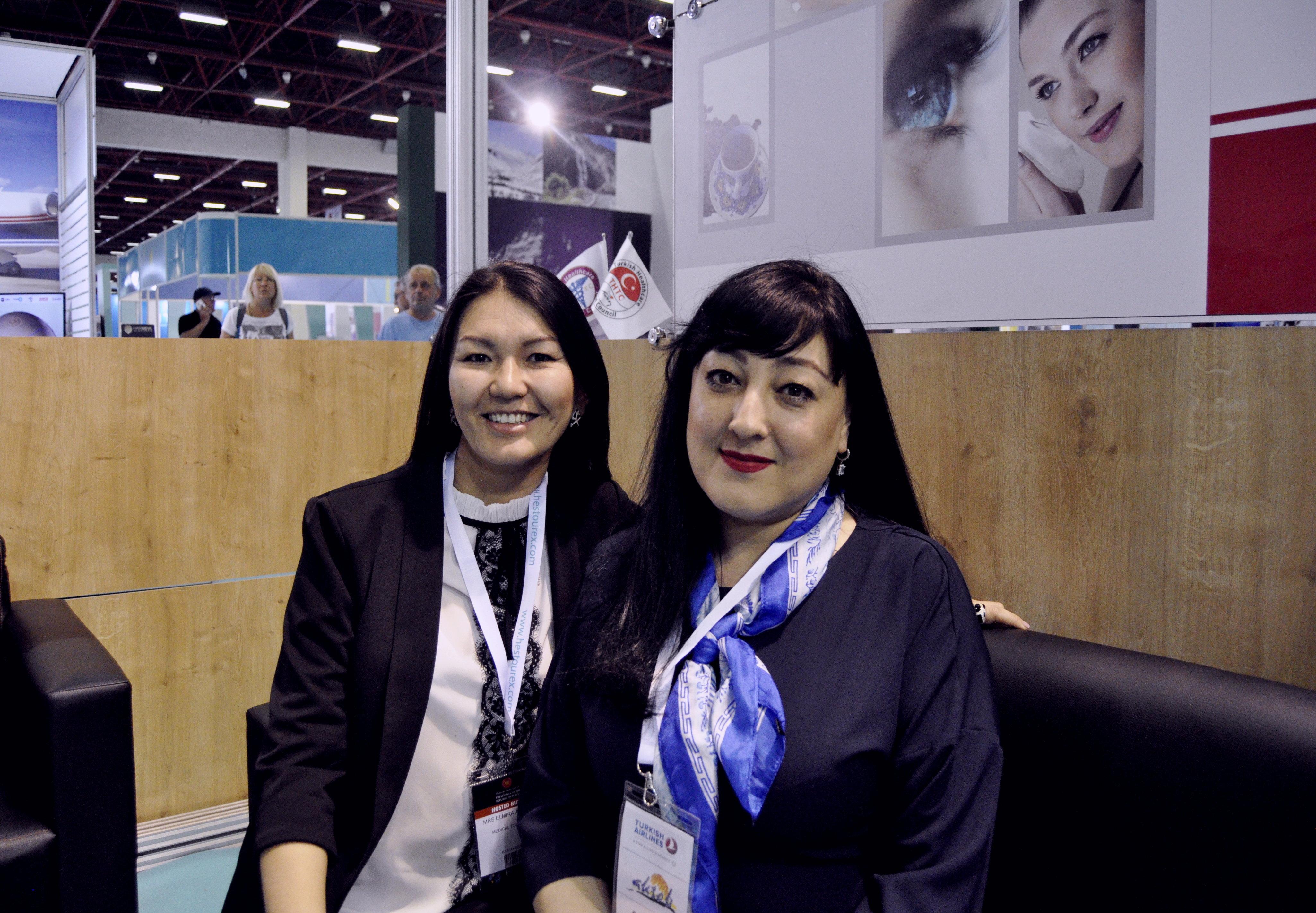Эльмира Алиева и Халида Садыкова
