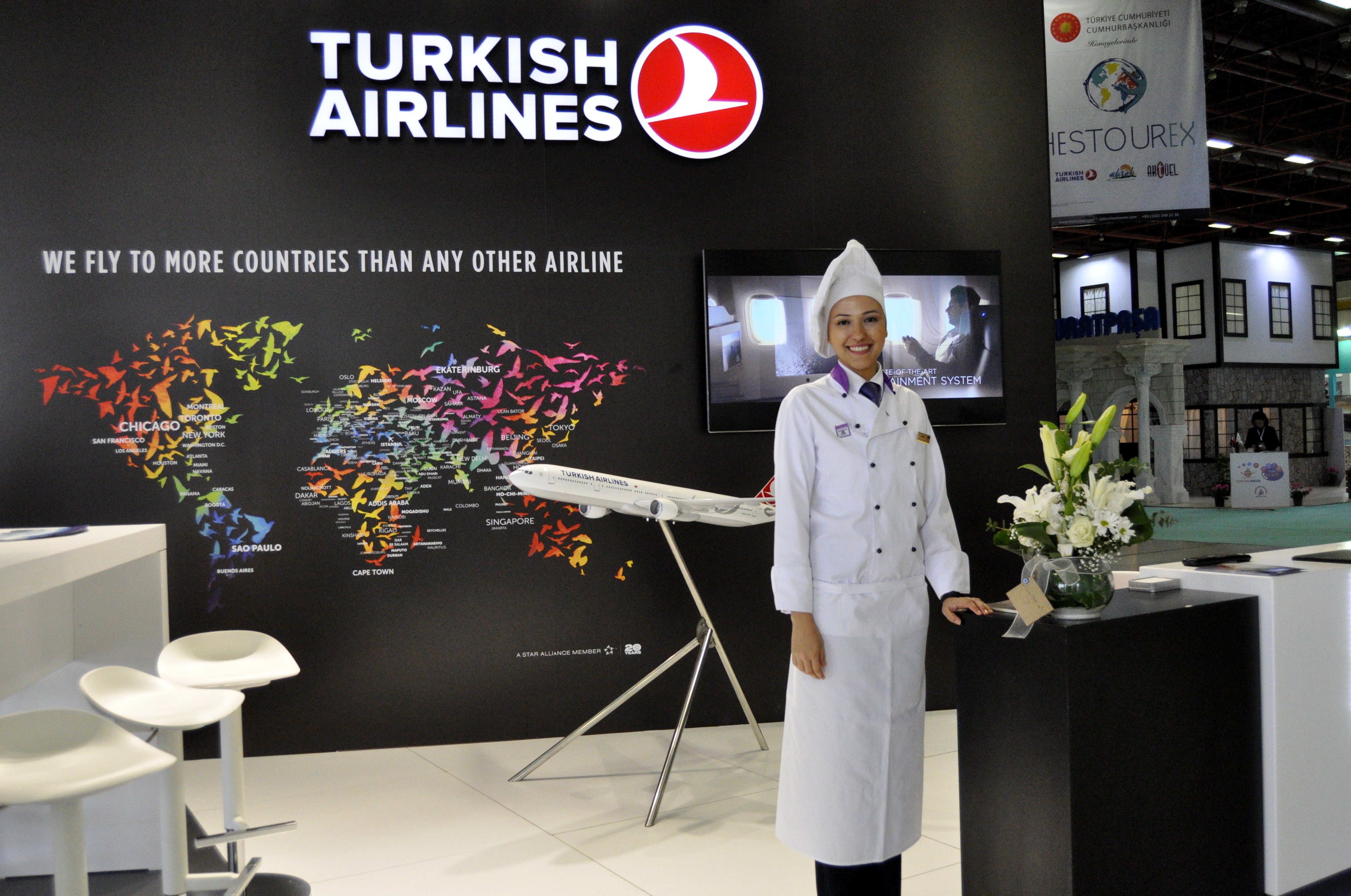 Turkish Airlines помогает в реализации благотворительных проектов по медтуризму в Казахстана