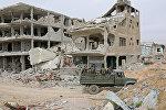Разрушенные дома в Сирии, архивное фото