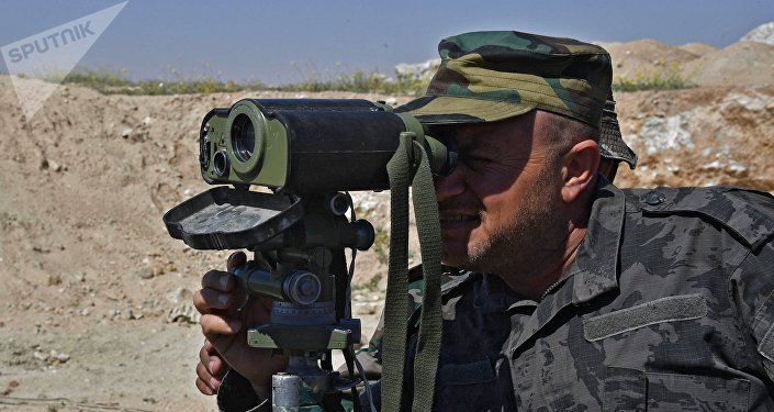 Солдат сирийской армии, архивное фото