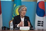 Министр иностранных дел Республики Корея Кан Гён Хва