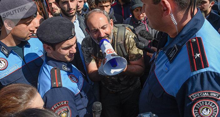 Депутат парламента Армении Никол Пашинян
