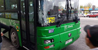 Автобус сбил девушку