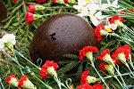 Каска солдата времен Великой Отечественной войны