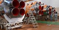 Сборка ракет-носителей. Архивное фото