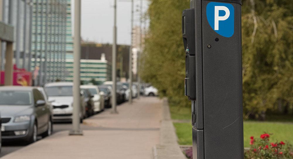 Счетчик платной парковки - паркомат