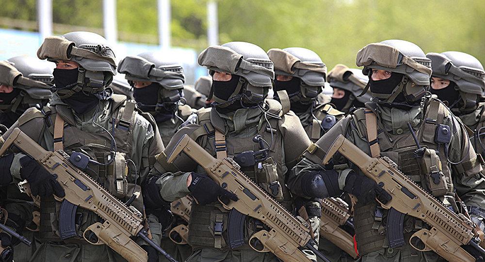 Воинские подразделения начали подготовку к боевому  параду в Отаре