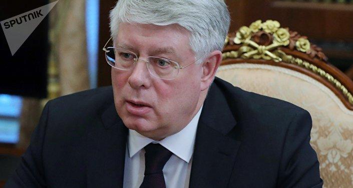Чрезвычайный и полномочный посол РФ в Республике Казахстан Алексей Бородавкин