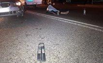 Пешехода сбили на ул. Сейфуллина