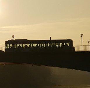 Автобус, иллюстрация