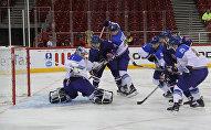 Сборная Казахстана взяла вверх над сборной Великобритании, которую разгромила со счетом 6:1