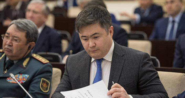 Тимур Сулейменов - министр национальной экономики