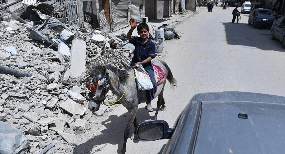 Ситуация в сирийском городе Дума