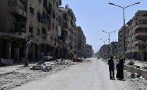 Сирияның Дума қаласындағы жағдай