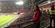 Маржан Ахмет - волонтер Чемпионата мира по футболу