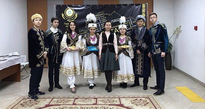Маржан Ахмет на мероприятии национально-культуной автономии казахов Республики Татарстан