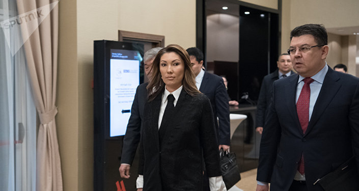 Алия Назарбаева и Канат Бозумбаев
