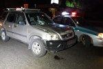 Смертельный наезд на пешехода по проспекту Рыскулова