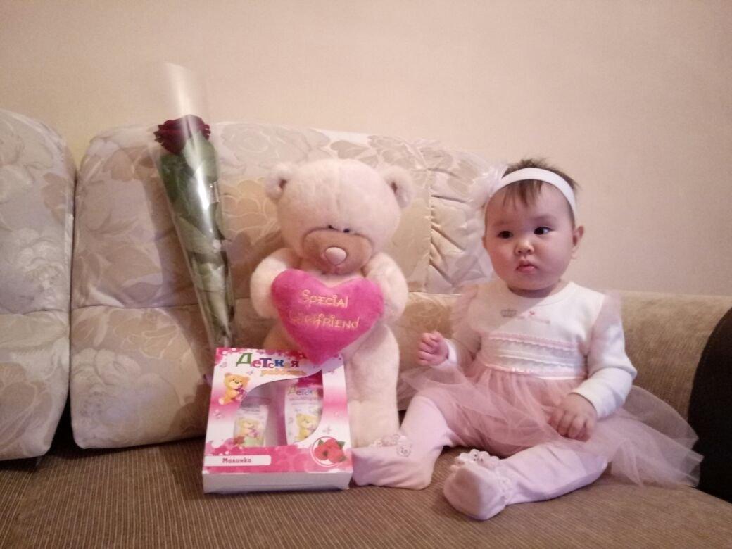Саида в день ее рождения