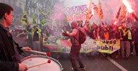 Забастовка работников железных дорог во Франции