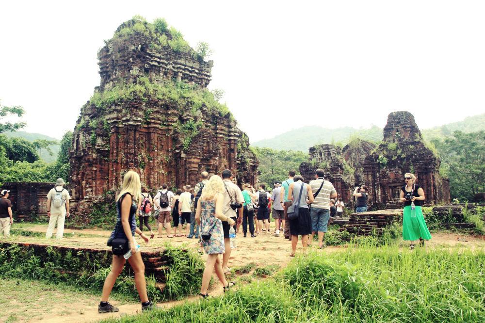 Святилище Мишон (Прекрасная гора) во вьетнамской провинции Куангнам