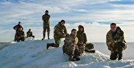 Участники экспедиции в Арктику из Северного Казахстана